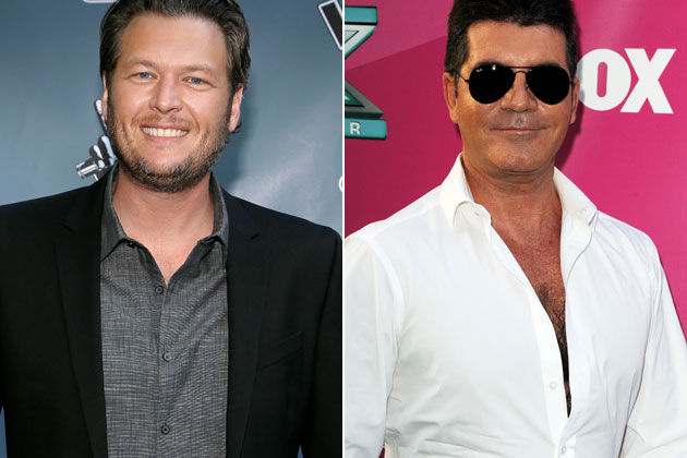 Blake Shelton &amp; Simon Cowell