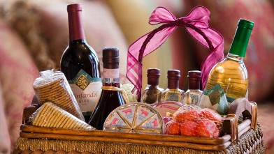 Romantic gift basket ideas for many occasions gift basket silent gift basket silent auction benefits seniors negle Choice Image